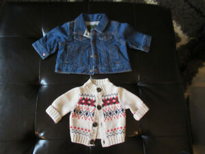 Assorted Baby and Toddler Spring Jackets - NB to 3T - Brand Name