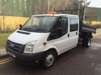 2011 Ford Transit 350 100bhp 2.4 Double Cab Tipper Manual Tipper
