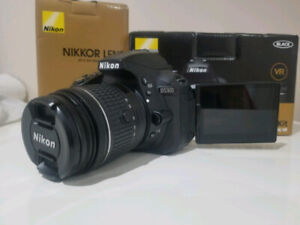 Nikon D5300 With 18-55mm and 35mm lens - MINT