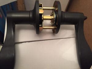 Brand new rubbed oil bronze door levers(handles)