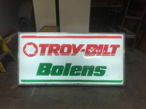 Enseigne Electrique Troy Bilt Bolens