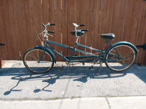 Vintage Tandem Bicycle + Free Delivery