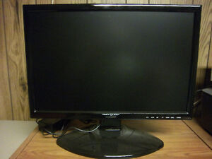 "Vision Quest 19"" Led Computer Monitor, Black"