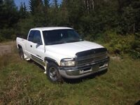Parting out 98 dodge 1500 v8, low km, good box!!