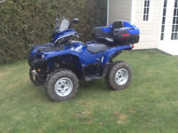 Grizzly 700 eps 2014 like new