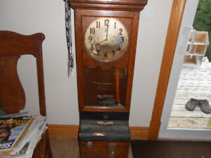 IBM Antique Time Clock
