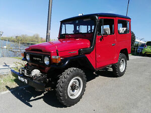 All original rust free Land Cruiser BJ40/FJ40