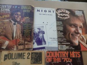 Collectable MUSIC/Song Magazines & Books