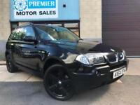 2004 (54) BMW X3 3.0i SPORT AUTO, FULL LEATHER, CRUISE, PARKING SENSORS +