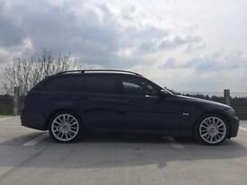 BMW 3 SERIES 335D 330D TOURING ESTATE SE INDIVIDUAL PADDLE SHIFT / FRIDGE / 2007