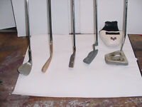 PUTTERS AND WEDGE