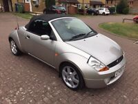 2006 Ford STREETKA, Service History and Long MOT 02/2017