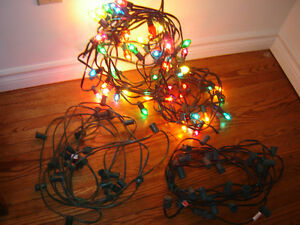 Outdoor lights - 18 strands - 25 sockets - Price is EACH