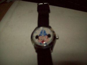 RARE MICKEY MOUSE WATCH  and TIMEX LION KING WATCH