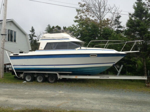 Used 1988 Bayliner sports fisherman