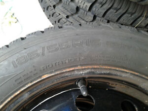 Nokian Hakkapeliitta R2 185 55 R15 winter tires for sale.