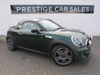 2012 MINI Coupe 2.0 Cooper SD 2dr Diesel green Manual