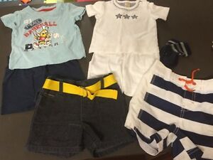 Boys 3-6m summer clothes