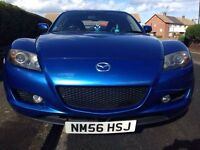 2006 Mazda RX8 192 PSI in Winning Blue