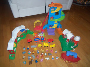 Lot de jouets jeux Little people