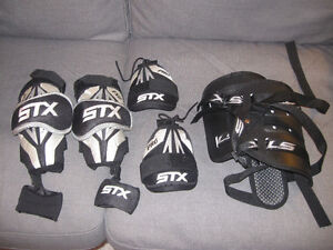 Lacrosse Equipment Fits Ages 8 to 10