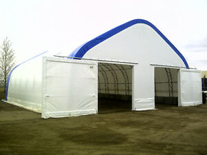 Customized Portable Fabric Covered Buildings