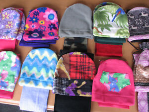 Fleece Sewing Fabric - Pieces, Yardage - Wanted for Kid's Hats