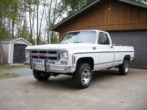 COMPLETELY RESTORED 1976 HIGH SIERRA 4x4 (Possible Trade)
