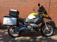 2005 -BMW R1200GS ABS FULL LUGGAGE CHEAP ADVENTURE - 49K MILES - 12 MONTHS MOT