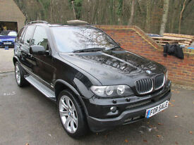 2006 (56) BMW X5 3.0D SPORT final edition AUTOMATIC + FULL HEATED LEATHER