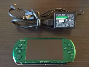 Sony PSP (Green)  with Memory Stick(s), Games & Movies