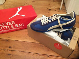 Puma men's SF77 Medieval blue trainers size 8 (brand new & boxed)
