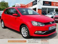 VOLKSWAGEN POLO SE 2014 Petrol Manual in Red