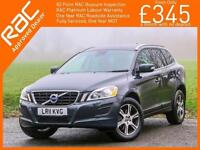2011 Volvo XC60 2.4 D5 Turbo Diesel 205 BHP SE LUX AWD 4x4 4WD Geartronic 6 Spee