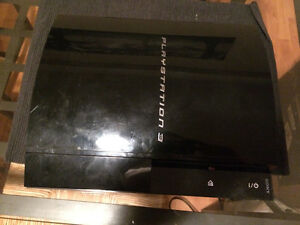 Broken PS3 for parts-$40 OBO