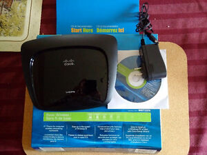 Linksys WRT120N 150 Mbps 4-Port 10/100 Wireless N Router Interne