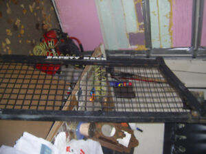 SAFETY RACK FOR PICKUP 8' BOX