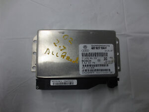 Audi All Road A6 Q Transmission Control Module TCM 4Z7927156F 4Z