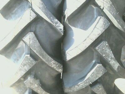 Two 12.4x24 Ford John Deere R 1 8 Ply Tube Type Tractor Tires