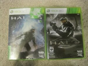 Xbox 360 Halo games 2 for $10
