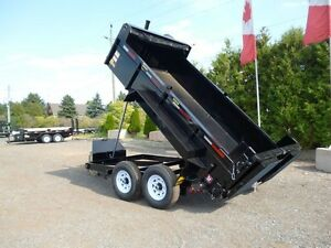 7 Ton Landscape Dump Trailer - Loaded with Options