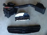 Used air intake,front grill and cluster from Honda civic1999