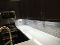 Kitchen Backsplash Tile Installation $200 up to 40sqft