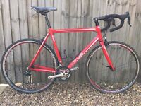 Vitus Road Bike with Campagnolo wheels and groupset 57cm