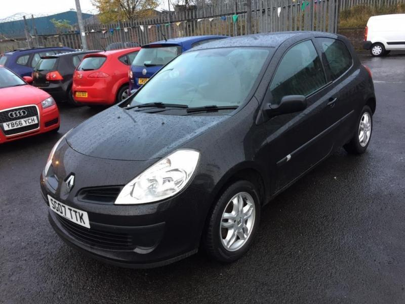 2007 renault clio 1 2 16v extreme hatchback 3dr petrol manual 139 g km 75 in johnstone. Black Bedroom Furniture Sets. Home Design Ideas