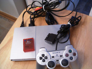 PlayStation PS2 consul controller memory card wheel & pedals