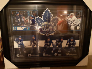 Maple  Leafs picture frame
