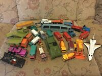 Various dinky toys and others