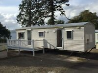 Static caravan for sale at Wemyss Bay holiday park near Largs Saltcoats Ayr