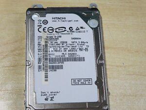 HITACHI TRAVELSTAR - 250 GB - 2.5 - SATA - ATA-300 - LAPTOP HARD